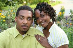 Engagement Portrait Brookside Garden