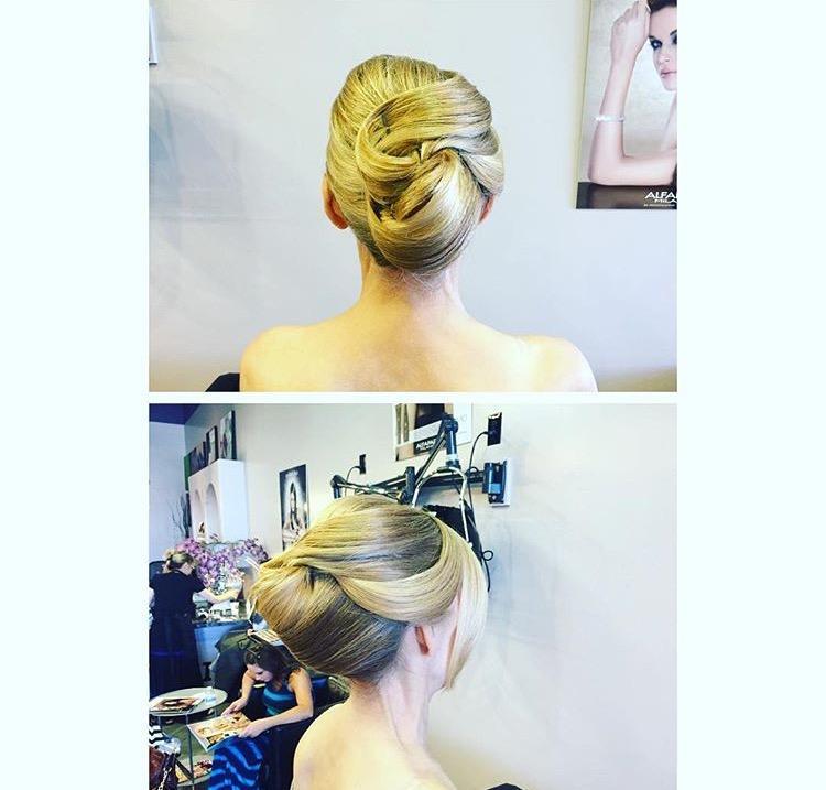 Updo stylist Phoenix