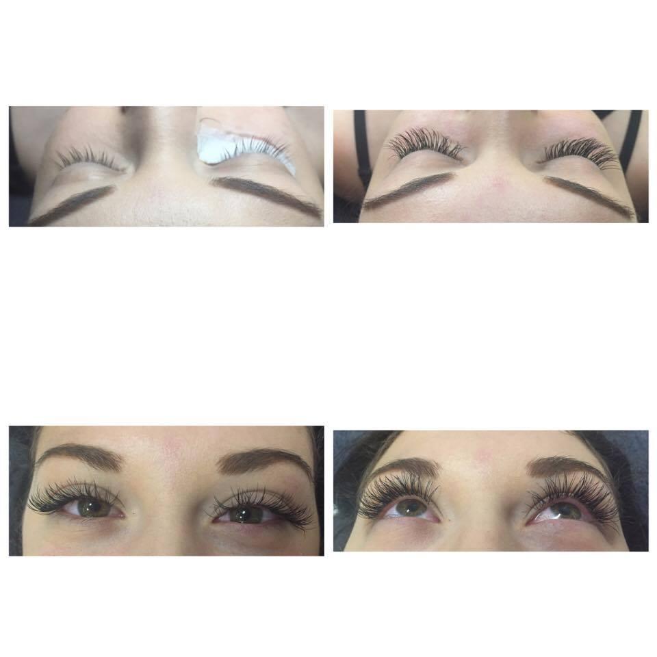 Eyelash extensions fill