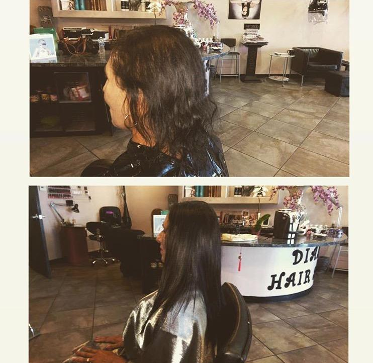 Hair color and extension Phoenix