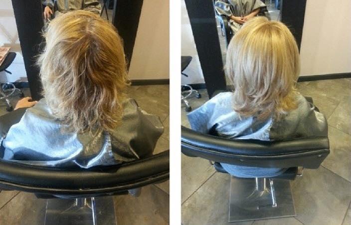 Women's haircut Phoenix