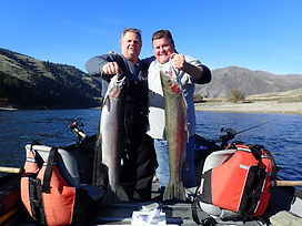 Steelhead Drift Boat Fishing Salmon River with Rapid River Outfitters