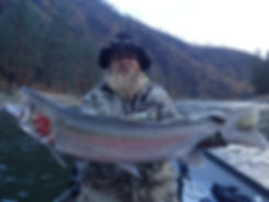 Steelhead fishing on the Salmon River