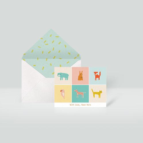 Note Cards & Envelopes Set