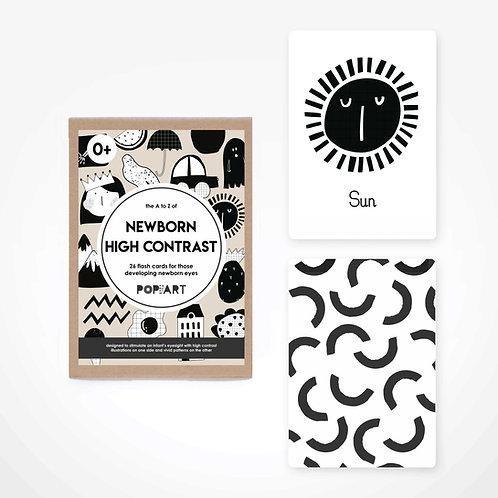 Newborn High Contrast Cards