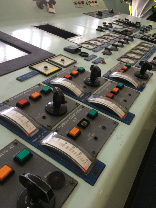 Inside the control room at Ferrybridge C, March 2017