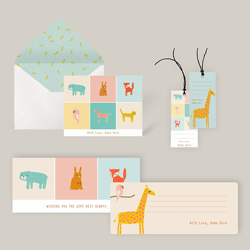 All-in-One Stationery Set