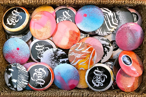 Unique handmade badges
