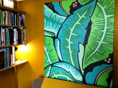 Original Canvas -'St Bananabas'
