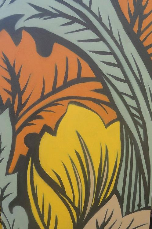 Giclée Print - 'Mildstyle' in 'Backyard' colourway
