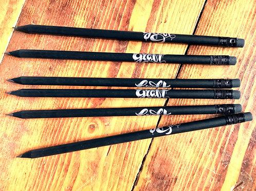 Graft blackwood pencils