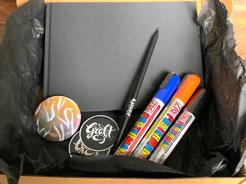 Graffiti Starter Kit Gift Box - 3 colours