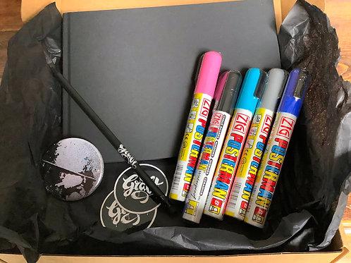 Graffiti Starter Kit Gift Box - 5 colours