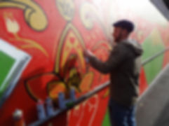 Graffiti, murals, graffiti workshops, mural painting, Bristol, graft