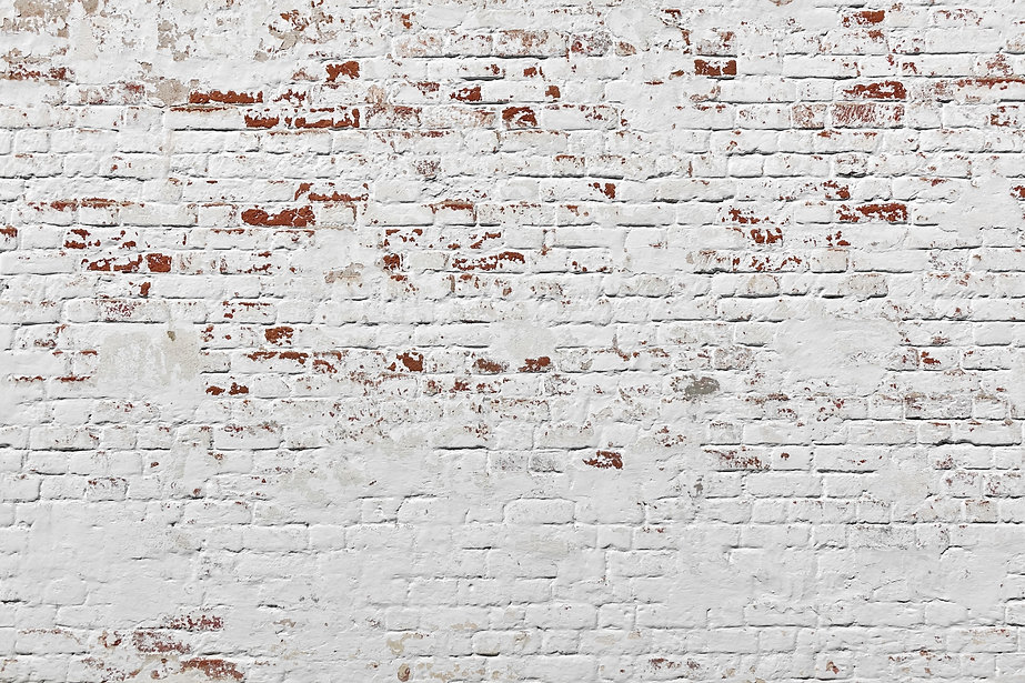 Red White Wall Background. Old Grungy Br