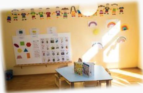 Kidszone Stars group room