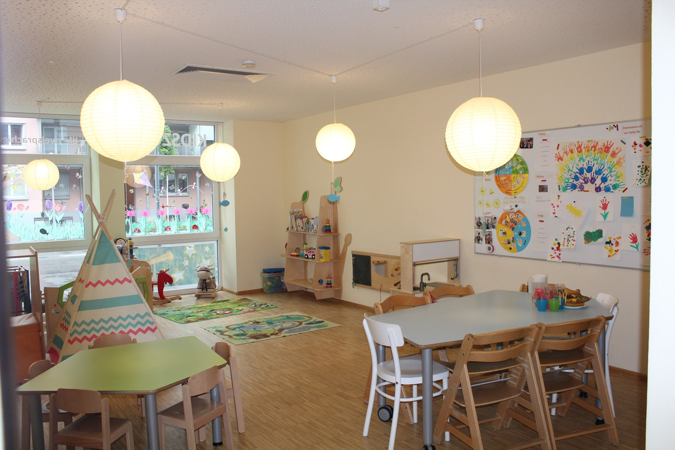 Kidszone Stars group room