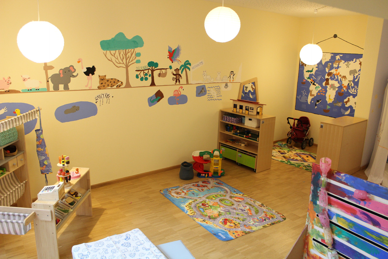 Kidszone Sunshines group room