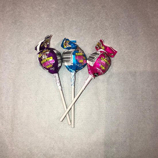 Super sour Bubbel Gum Pops