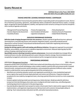 sample resume for writer