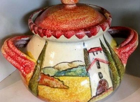 Covered Sugar Bowl