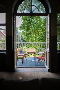 Location Germany balcony