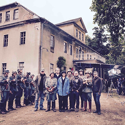 Movie Shoot Unser Letztes Sommer