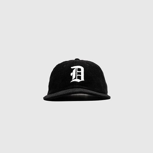 OE CORDUROY CAP (BLACK)