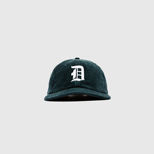 OE CORDUROY CAP (PINE GREEN)