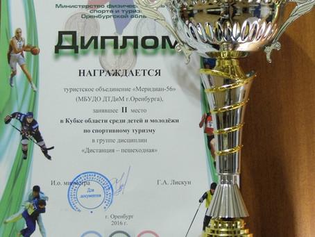 Кубок Оренбургской области по спортивному туризму