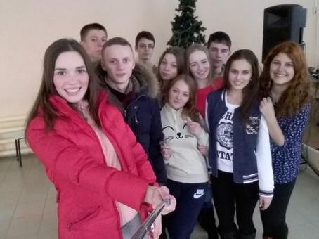 Новогодний сбор воспитанников