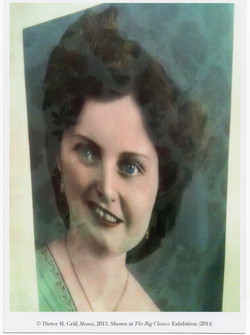 """""""Mama"""", Postcard 2014"""