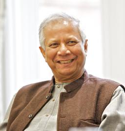 Muhammad Yunus invité par Clepsydre