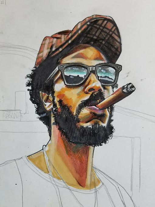 Self Portrait Cuba