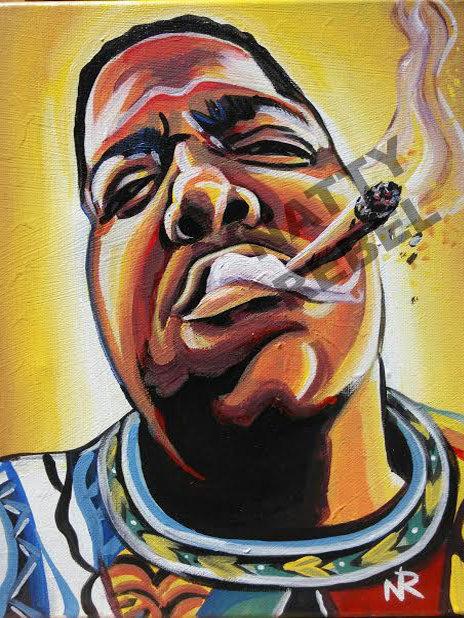 Biggie Smoke Print