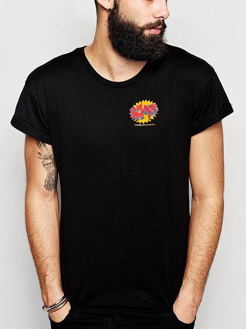 Mens Short Sleeve T Pocket Print Logo