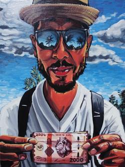 Self Portrait Zanzibar