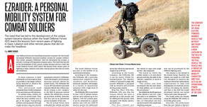 EZRAIDER: A PERSONALMOBILITY SYSTEM FORCOMBAT SOLDIERS