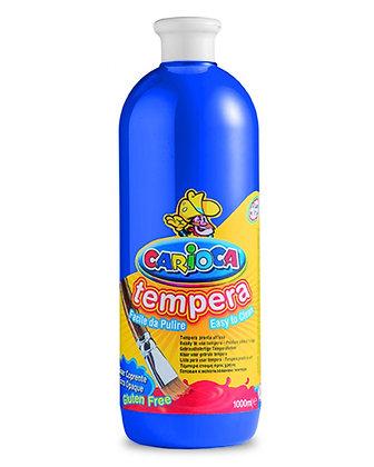 Carioca Tempera Suluboya Süper Yıkanabilir Koyu Mavi 1000 Ml.