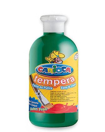 Carioca Tempera Suluboya Süper Yıkanabilir Koyu Yeşil 500 Ml.