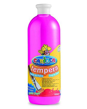 Carioca Tempera Suluboya Süper Yıkanabilir Fuşya 1000 Ml.