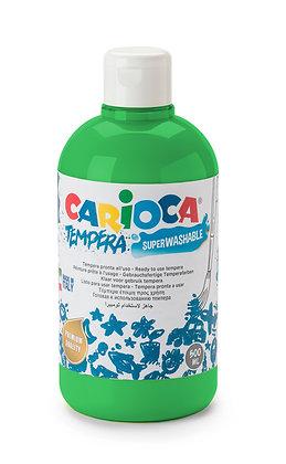 Carioca Tempera Suluboya Süper Yıkanabilir Yeşil 500 Ml.