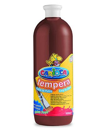 Carioca Tempera Suluboya Süper Yıkanabilir Kahverengi 1000 Ml.