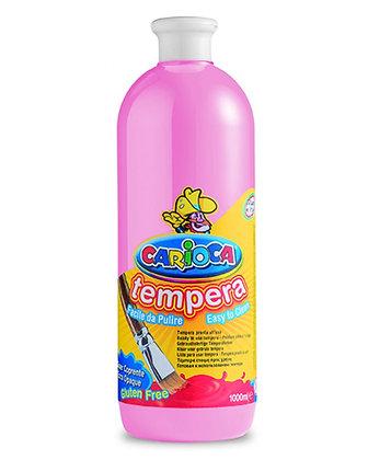 Carioca Tempera Suluboya Süper Yıkanabilir Pembe 1000 Ml.