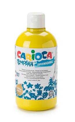 Carioca Tempera Suluboya Süper Yıkanabilir Sarı 500 Ml.