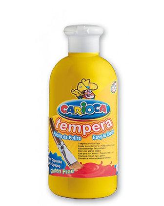 Carioca Tempera Suluboya Süper Yıkanabilir Sarı 250 Ml.