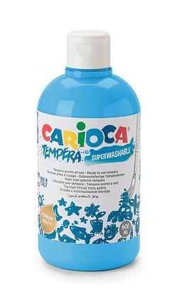 Carioca Tempera Suluboya Süper Yıkanabilir Mavi 500 Ml.