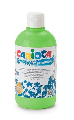 Carioca Tempera Suluboya Süper Yıkanabilir Açık Yeşil 500 Ml.