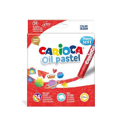 Carioca Yağlı Pastel Boya 24'lü