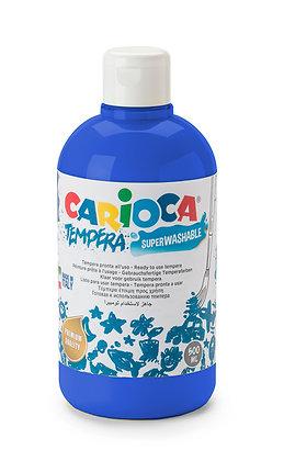 Carioca Tempera Suluboya Süper Yıkanabilir Koyu Mavi 500 Ml.